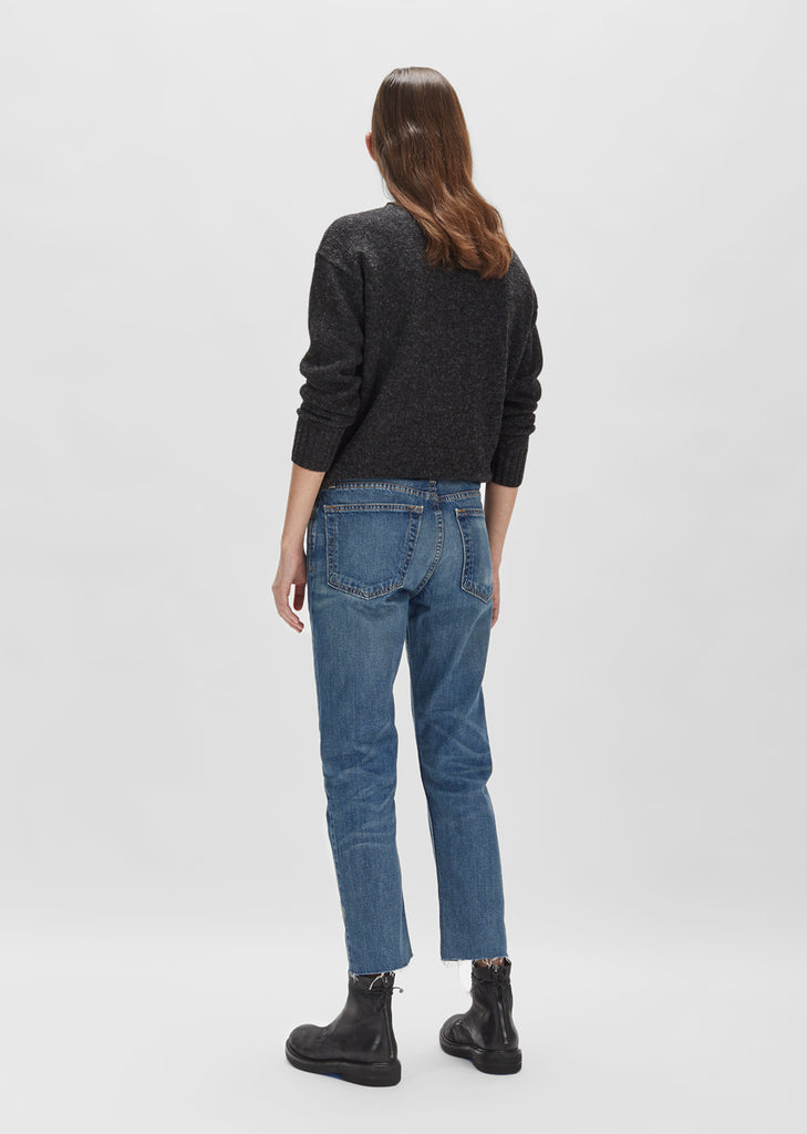 Relaxed Crop Jean