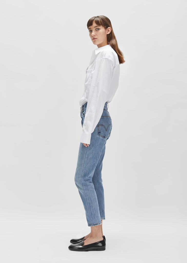 x Levi's High Rise Ankle Crop Jean
