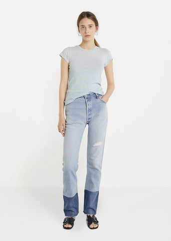 Levi's High Rise Stove Pipe Jean