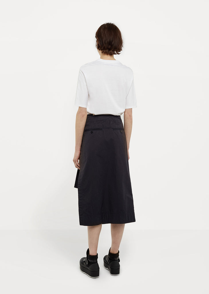 Asymmetrical Overdyed Skirt