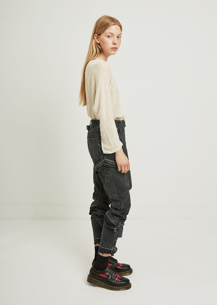 Deconstructed Pants