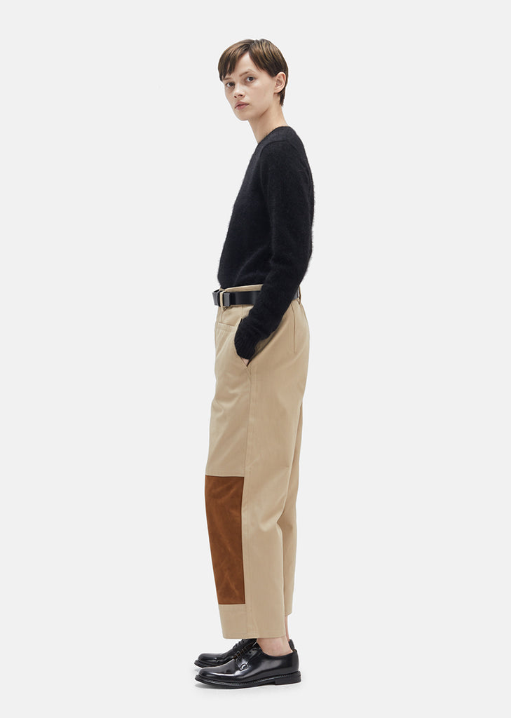 Cotton Gabardine Trouser