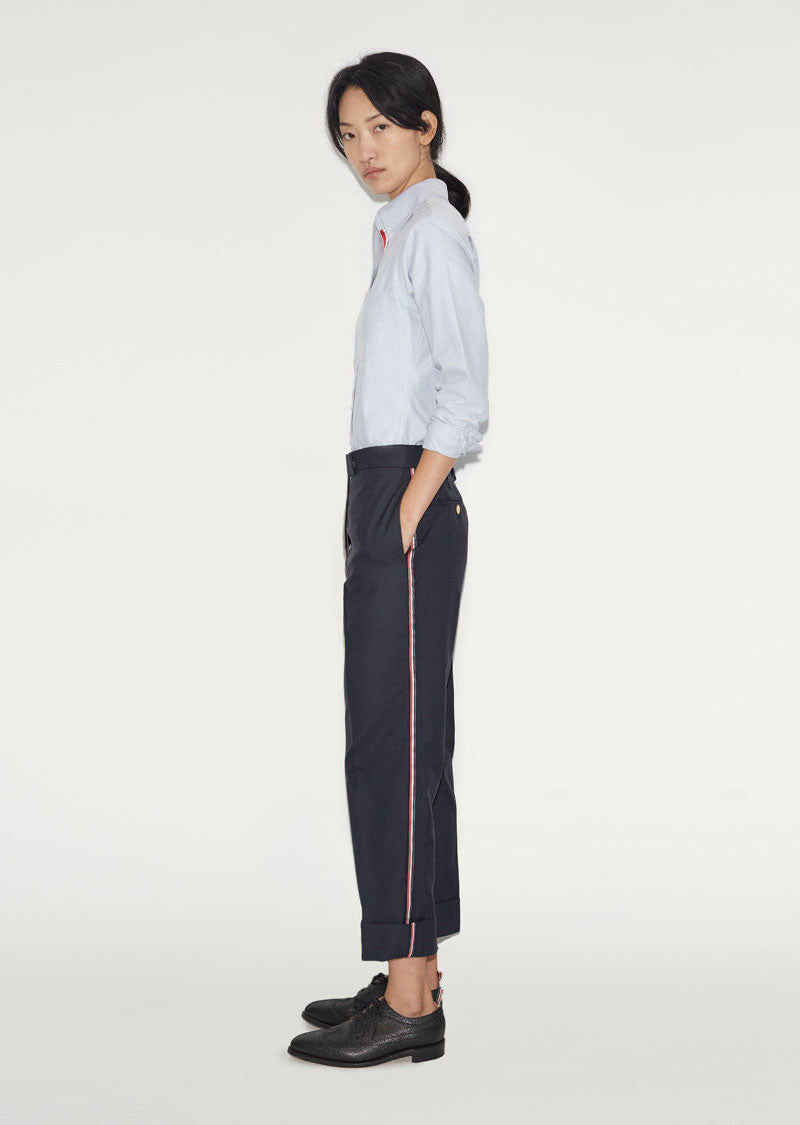 Classic Twill Wool Trousers