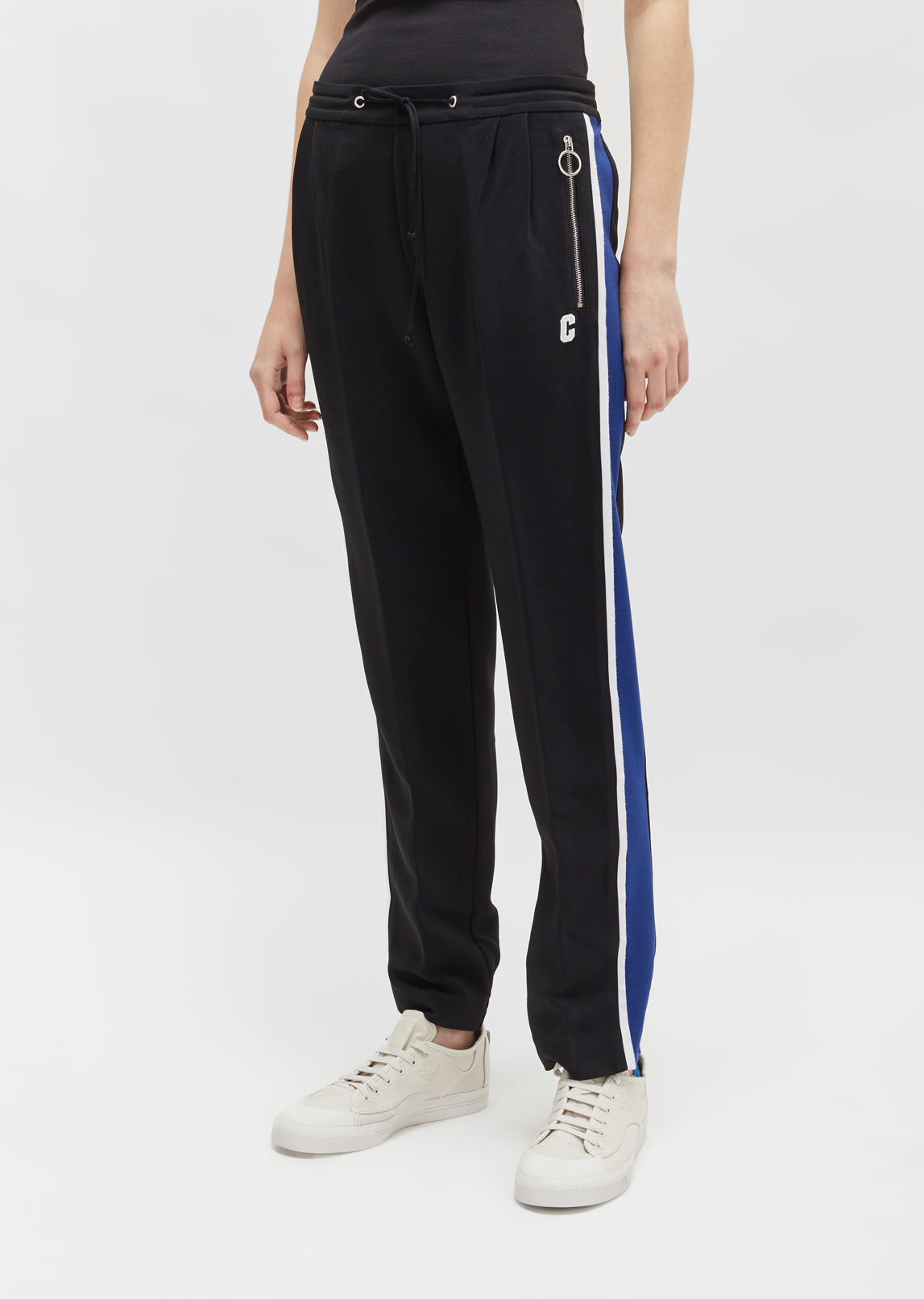 Free Shipping Countdown Package Blue Side Stripe Lounge Pants Free Shipping Many Kinds Of yIZMCqNky6