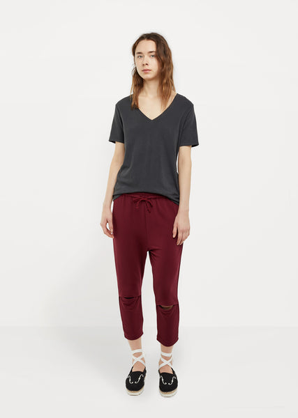 Knee-Cut Sweatpant