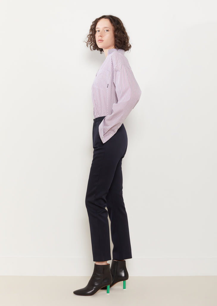 Cropped Fitted Pants