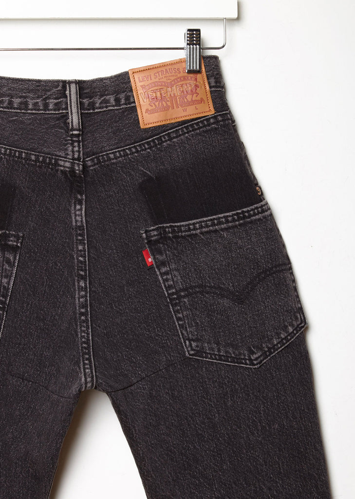 X Levi's High Waist Reworked Jeans