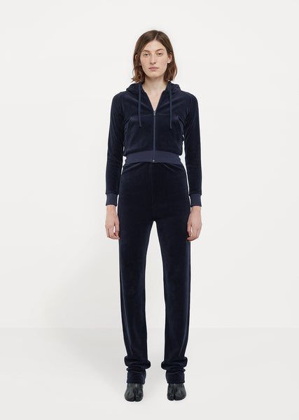X Juicy Couture Stretch Velvet Tracksuit