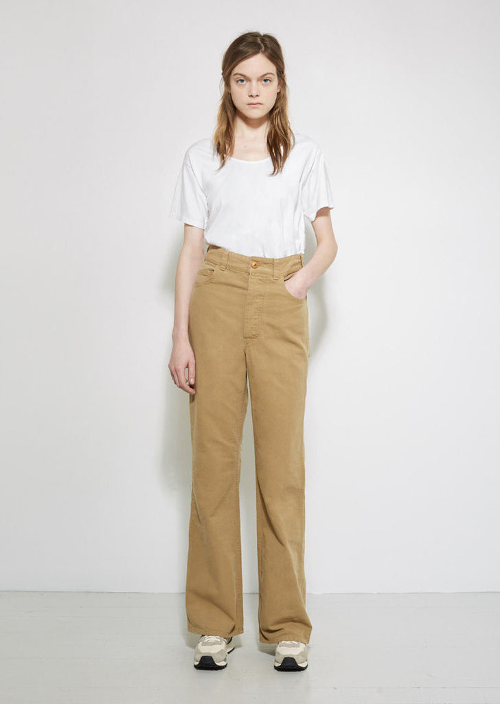 Canvas Highwaisted Trousers