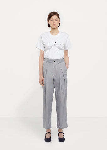 Erupting Pleat Trouser