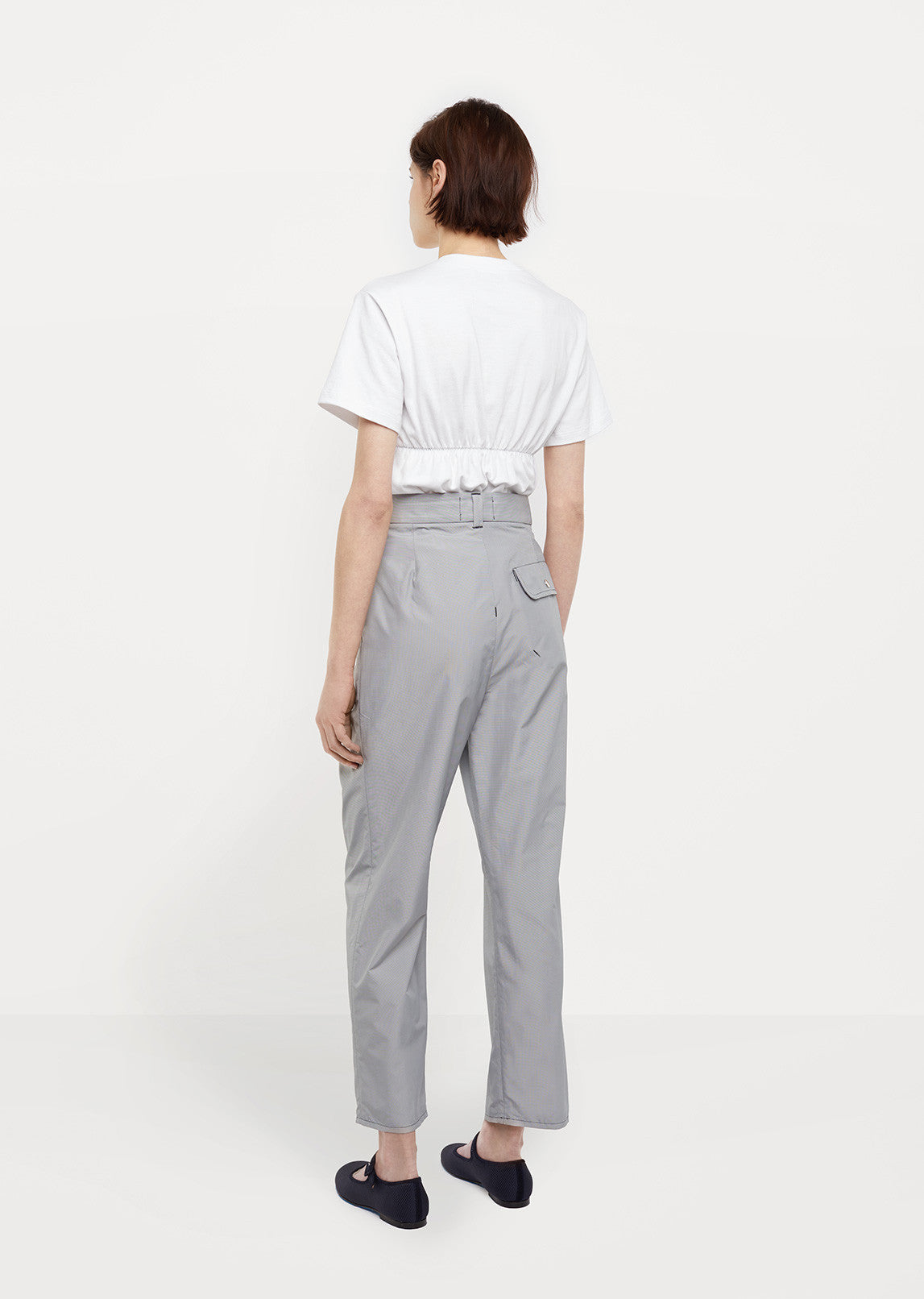 Erupting Pleat Trousers