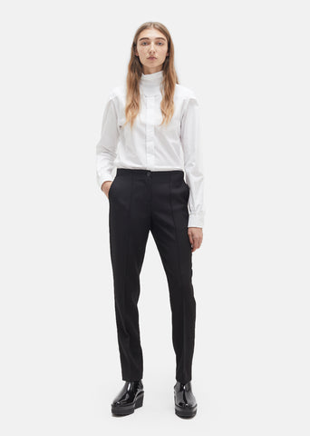 Slim Cut Up Trousers