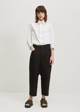 U-Gusset Drop Pants
