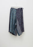Drawstring Paisley Pants