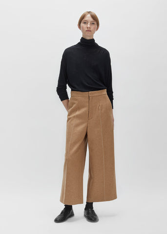 Knit Melton Wool Pant