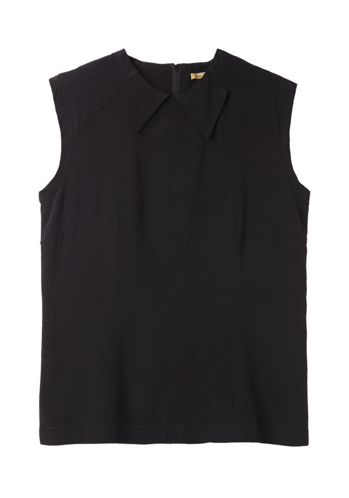 Sleeveless Crepe Top