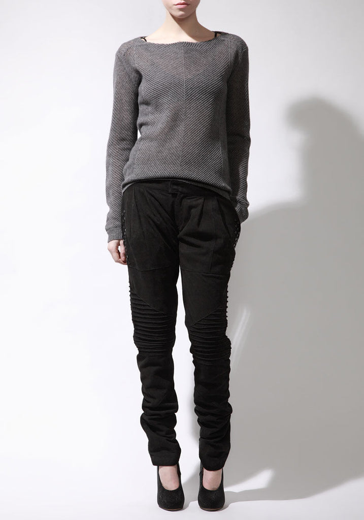 Suede Marina Pants w/ Studs