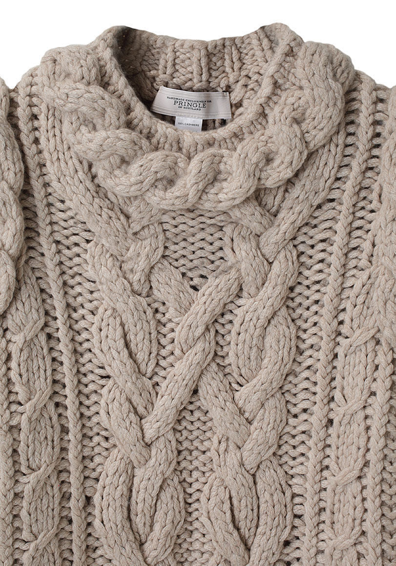 Rope Cable Sweater