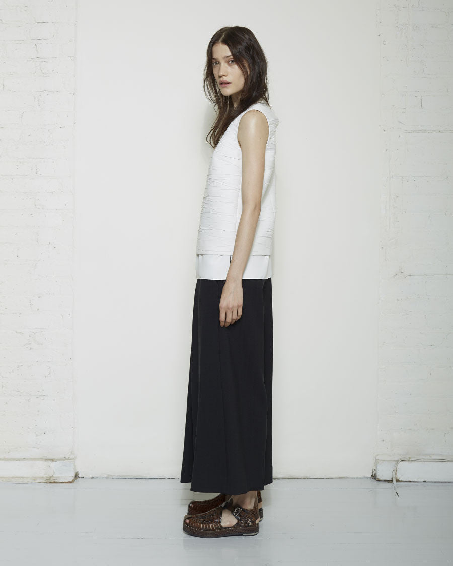Cropped Layered Pant