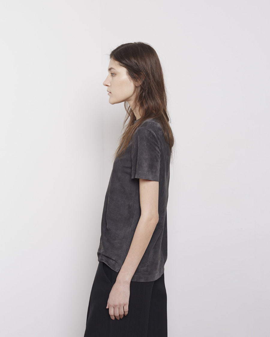 Lightweight Leather Tee