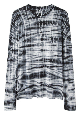 Long Sleeve Tie-Dye Tee