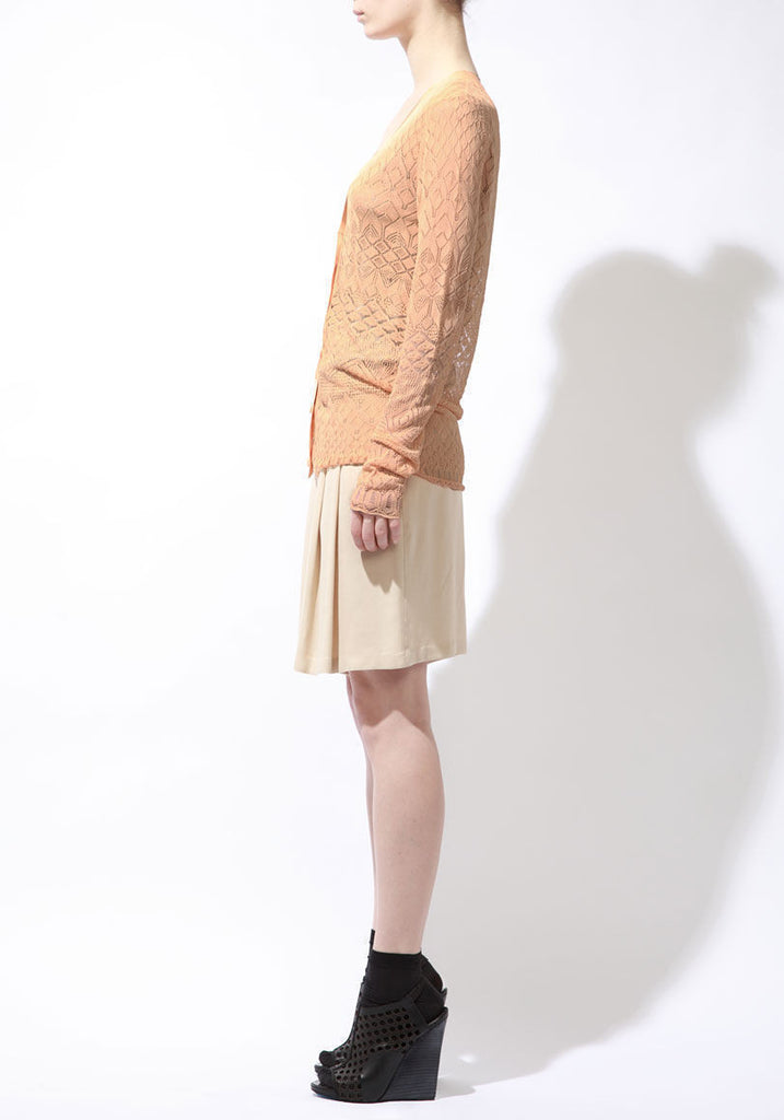 Pointelle Lace Cardigan