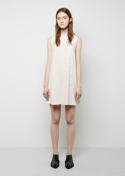 Proenza Schouler Snap Front Flared Dress La Garconne