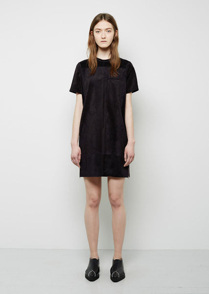 Proenza Schouler Suede Mini Dress La Garconne