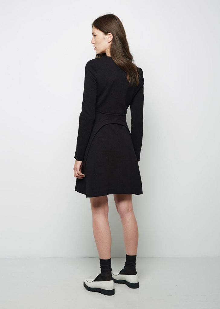 Tailored Wool Dress