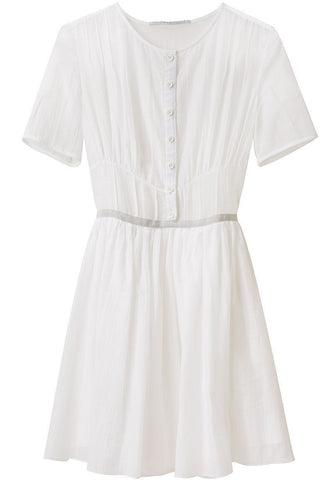 Voile Shirtdress