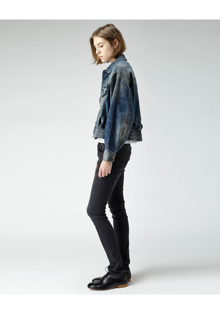 Dolman Jean Jacket - MERGE W JR135BFW13