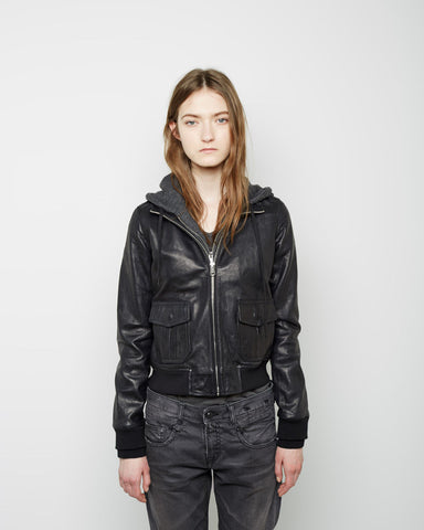 Hooded Flight Jacket