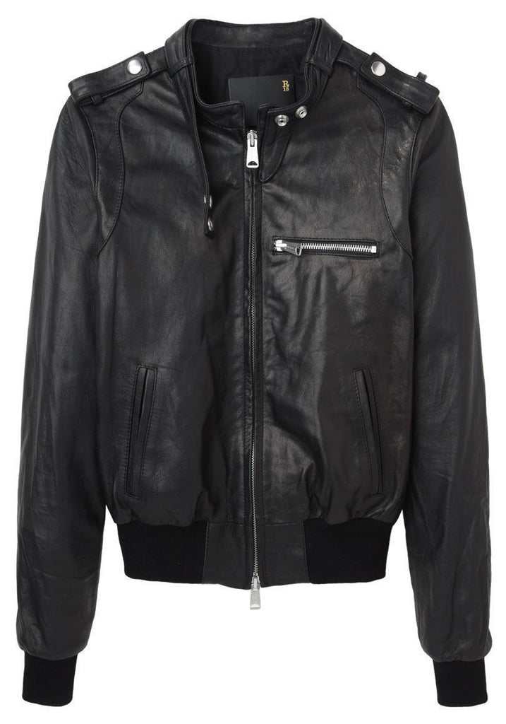Leather Members Jacket