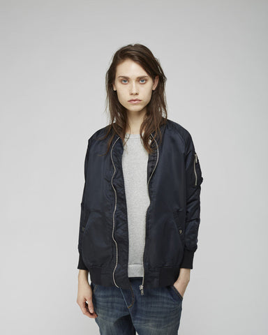 Oversized Flight Jacket