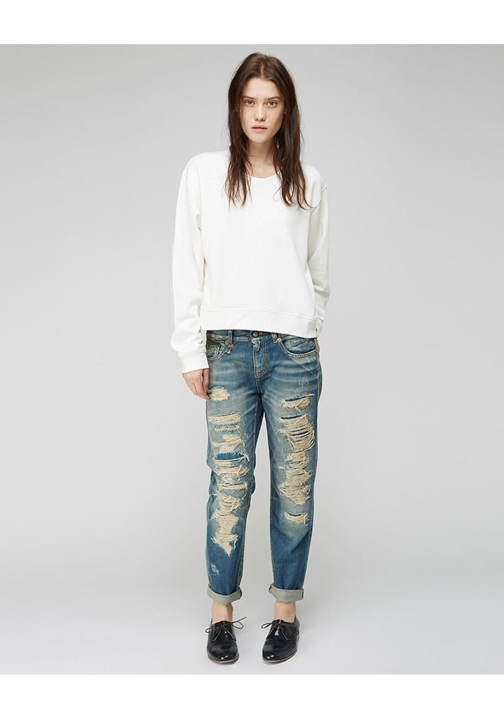 Relaxed Skinny Jean - MERGE W PR1343AS00
