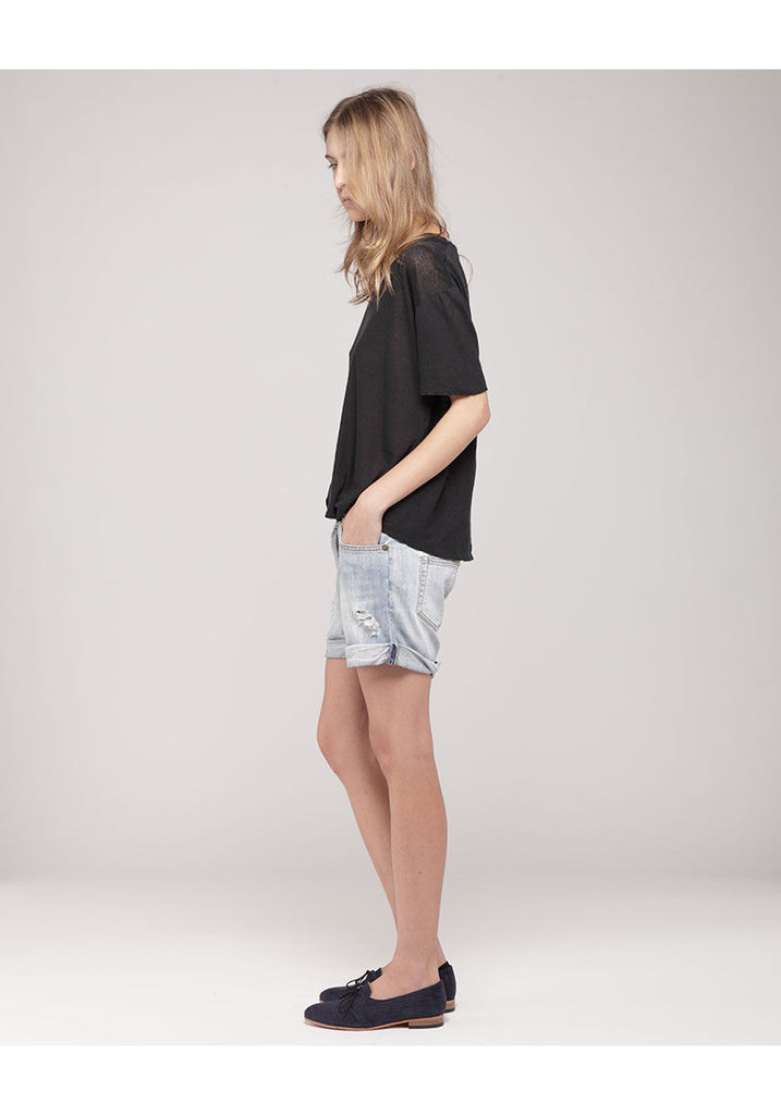 Slouch Cut-Off Shorts