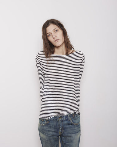 Striped Boatneck Longsleeve