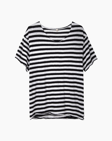 Vintage Striped Rosie Tee