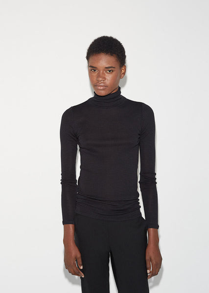 6397 Tubular Turtleneck La Garconne