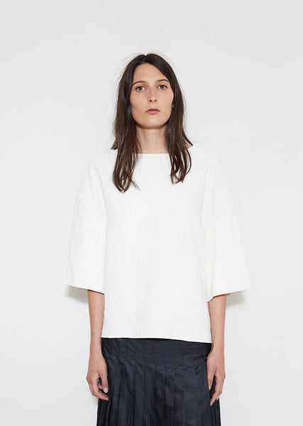 Structured Linen Top