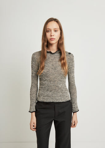 Barton Ribbed Linen Sweater
