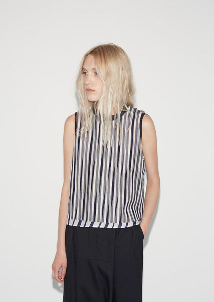 Kolor Ruffle Stripe Top La Garconne