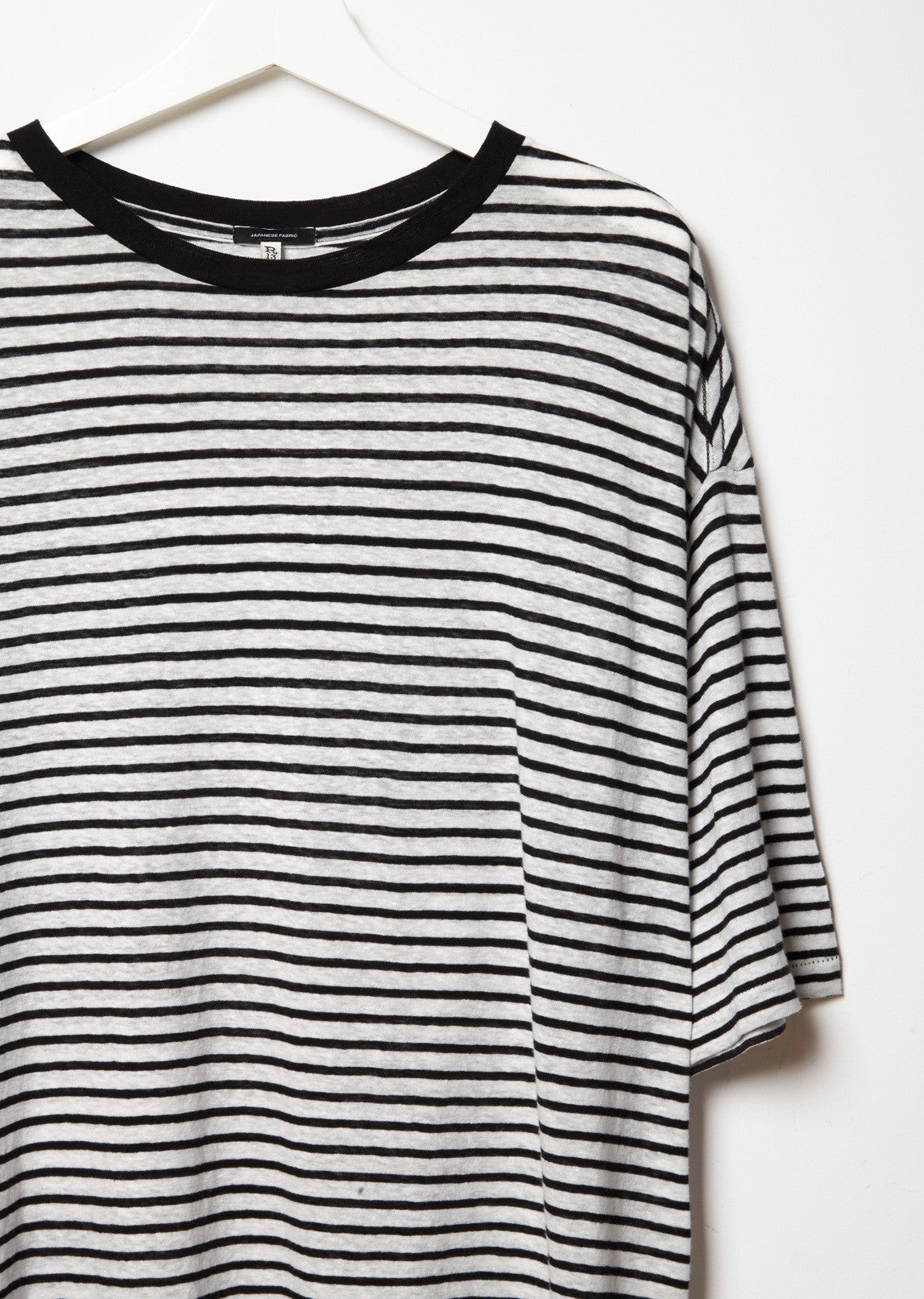 Oversized Stripe Boyfriend Tee
