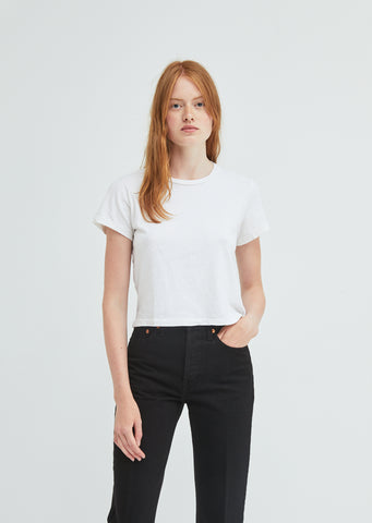 The 1950's Boxy Crop Tee