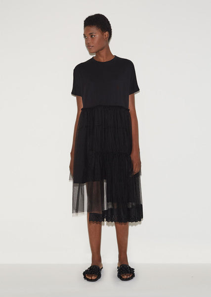 Simone Rocha Three Tier Tee Dress La Garconne