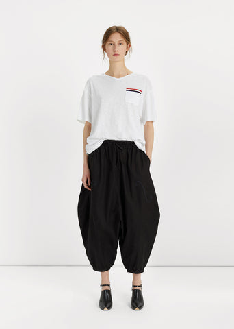 Cropped Jodhpur Cotton Pant