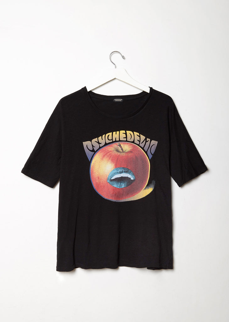 Psychedelic Apple Printed Tee