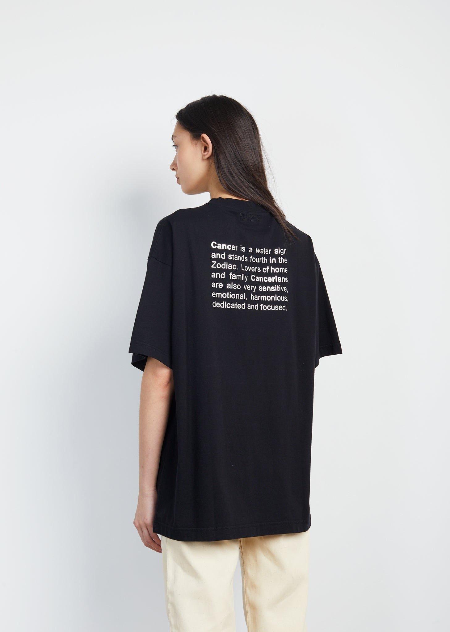 Cancer Horoscope Tee by Vetements- La Garçonne