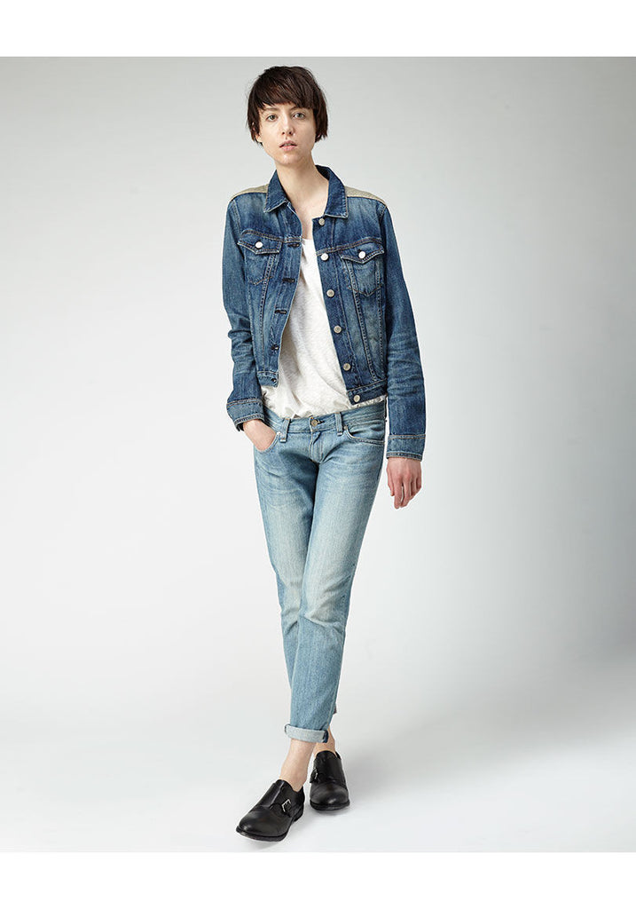 Denim & Knit Jacket