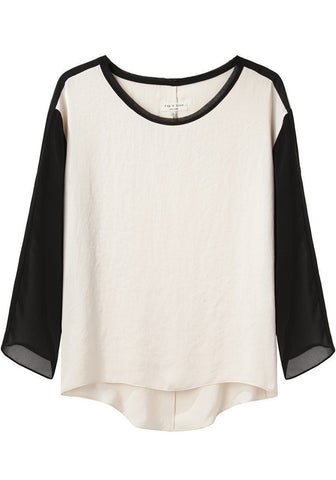 Silk Long Sleeve Tee